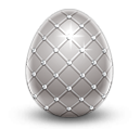 Easter Resource Silver Egg
