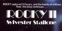 Rocky II novelization