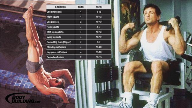 File:Sylvester Stallone Calves Workout.JPG