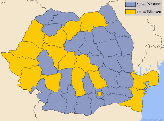 Bestand:Romania presidentia2004 Run-off by county.png