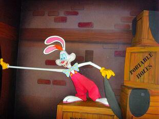 Roger Rabbit animatronic