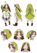 Chamo anime design