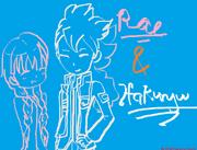 Rae & Hakuryuu By BR16 (ShuuLover-Reshi)