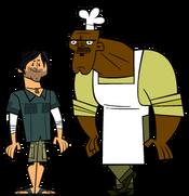 Chris and Chef Hatchet