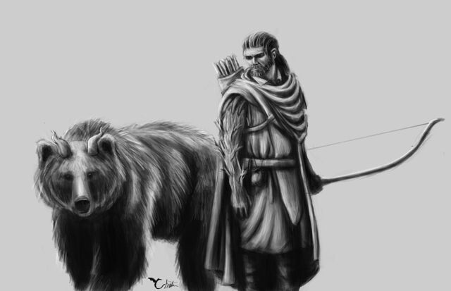 File:Kellan wildlight sr and thari the bear by moriarty93.jpg