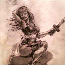 Lady charlegmane by saltstachio