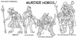 Murder hobos by markatron2k