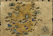 Howling mountains mining map