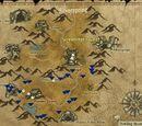 Zinc ore mining map - Howling mountains region