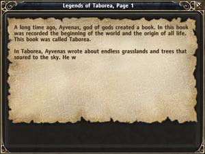 LegendsOfTaborea Page01