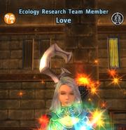 EcologyResearchTeamMemberLove