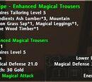 Recipe:Enhanced Magical Trousers