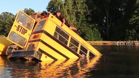 HE DESTROYED MY BUS!! So Scary!!