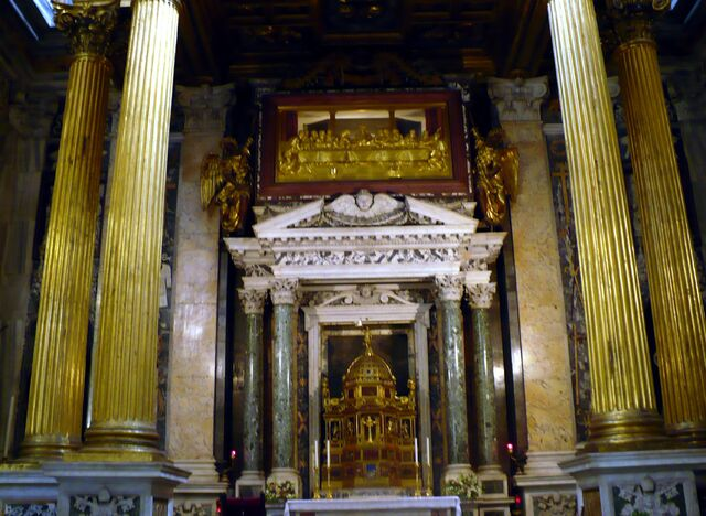 File:Altar of the Blessed Sacrament - Pier Paolo Olivieri c. 1600.jpg