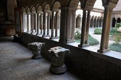SS quattro coronati cloister