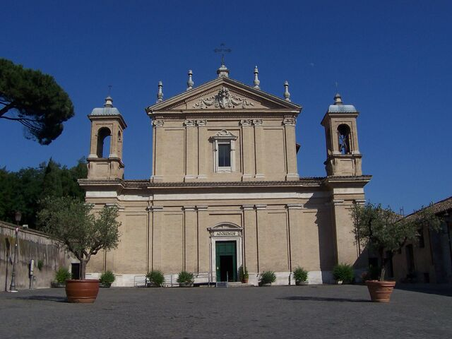 File:Sant'Anastasia - Roma - facciata - Panairjdde.jpg