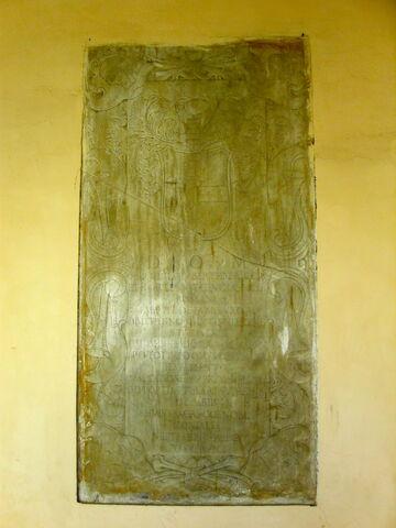 File:2011 Ambrogio, inscription in loggia.jpg