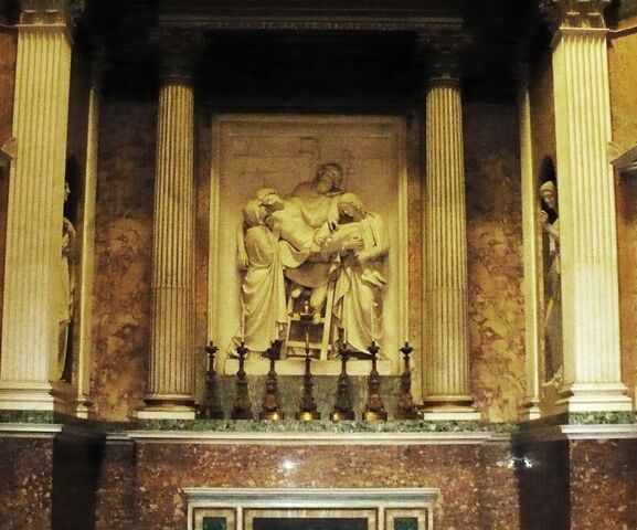 File:The Torlonia Chapel-Relief of ''The Deposition'' -of Jesus-.jpg
