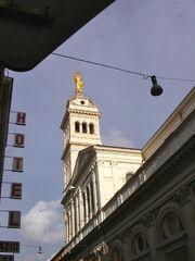 2011 Sacro Cuore statue
