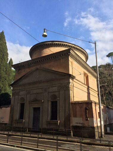 S. Andrea del Vignola - Via Flaminia