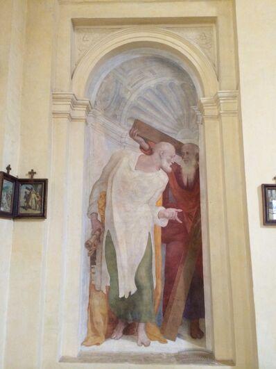 S. Andrea del Vignola - Fresco Andrew and Peter