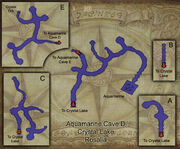 Aquamarine Caves map