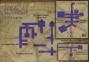 Desert Ruins map