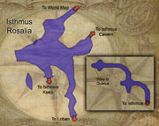 Isthmus map