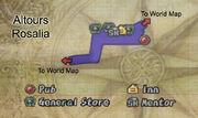 Altours map