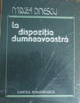 Mirceadinescu ladispozitia