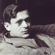 603px-Tristan Tzara and Rene Crevel cropped
