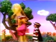 Hamburglar Helps Birdie with Balloon