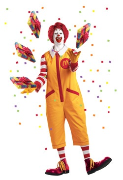 File:Ronald McDonald magic present juggling.jpg