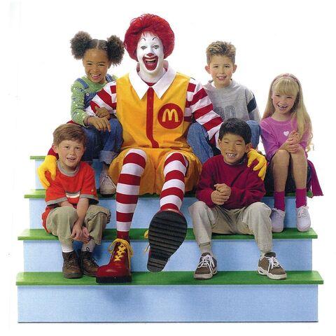 File:Ronald McDonald & Kids.jpg