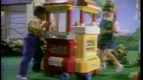 McDonald's Fisher-Price Playset Commercial (1989) McDonalds Toy
