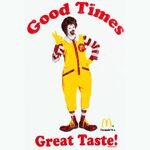 Ronald McDonald T-Shirt 1