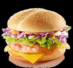 Spicy Shrimp Burger