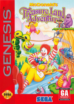 McDonalds Treasure Land Adventure
