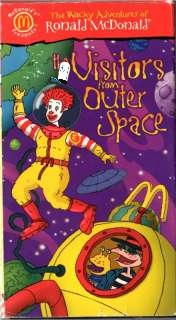 The Wacky Adventures of Ronald McDonald Visitors From Outer Space