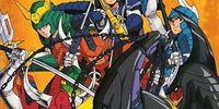 Yoroiden Samurai Troopers Volume 3 (DVD)