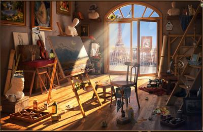 Artiststudio klein