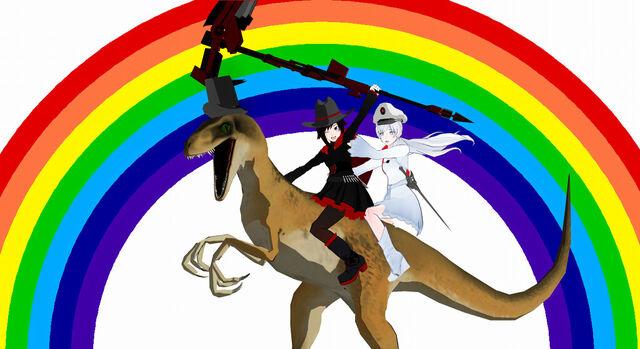 File:RWBYsauraus - Over the Rainbow!.jpg