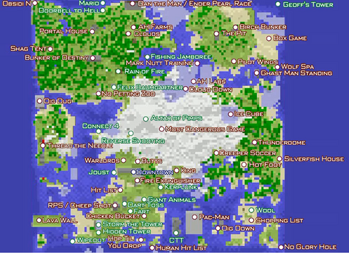 Achievement city map