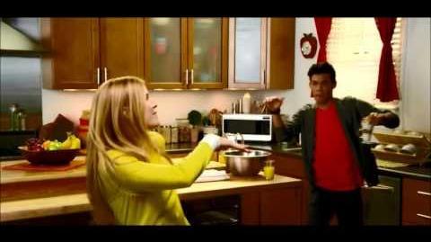 "Roshon Fegan and Caroline Sunshine ""Try It"" Ad"