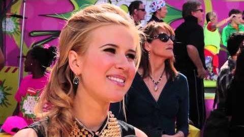 Caroline Sunshine Interview - 2013 Kids' Choice Awards