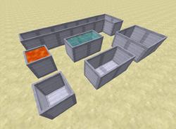 Differnet shape reservoir