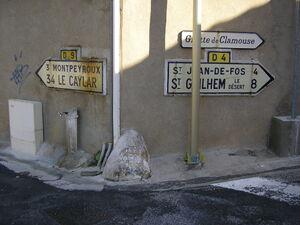 Plaques Michelin 34 Lagamas - D4 - D9