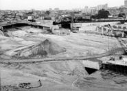 Porte de Bagnolet 1966 - Echangeur BP-A3 Pont Ibsen