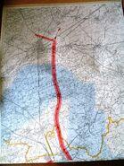 Autoroute du Nord 1957 – Tracé3