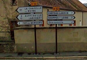 D52 (77) - Bougligny